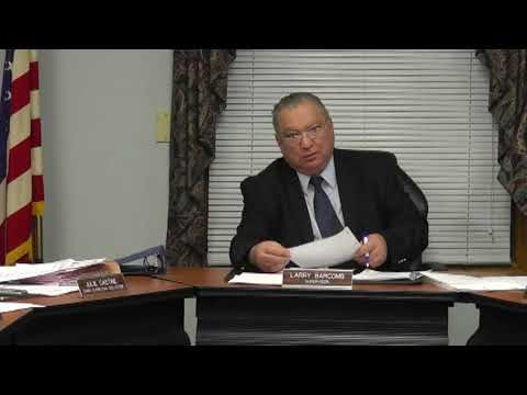 Champlain Town Board Meeting 2-14-12