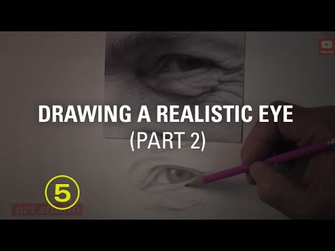 DRAWING THE EYE -- PART 2 (Art Studio Lesson 22 excerpt)