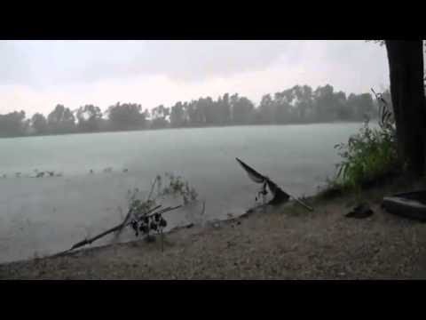 Recreational fishing - Violent storms - floods, storms