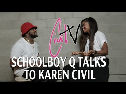 ScHoolboy Q Talks New Album, Old Tweets, and Touring w/ Action Bronson with Karen Civil