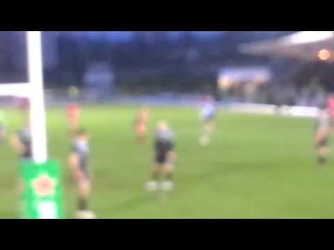 Glasgow Warriors vs Toulon - Jonny Wilkinson parte 2