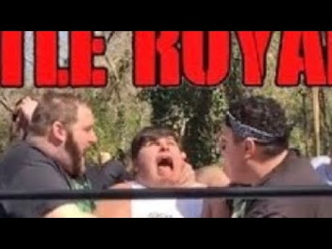 MOST EMOTIONAL BATTLE ROYAL EVER ENDS IN CONTROVERSY! GTS WRESTLING GRIMAMANIA REMEMBERS SUPERPOP!
