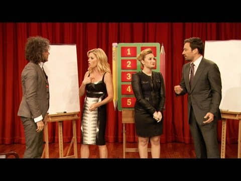 Pictionary with Demi Lovato, Julie Bowen, Wayne Coyne & Jimmy Fallon, Part 1