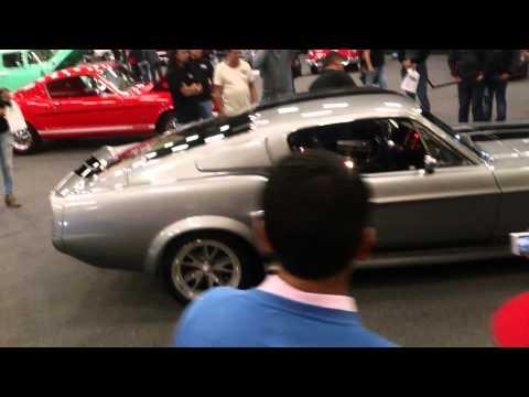 Mustang Eleanor encendido Motores en Corferias Bog