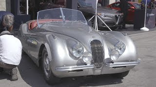 Jaguar Garage Tour - Rolex Monterey Motorsport Reunion!. MotorTrend.