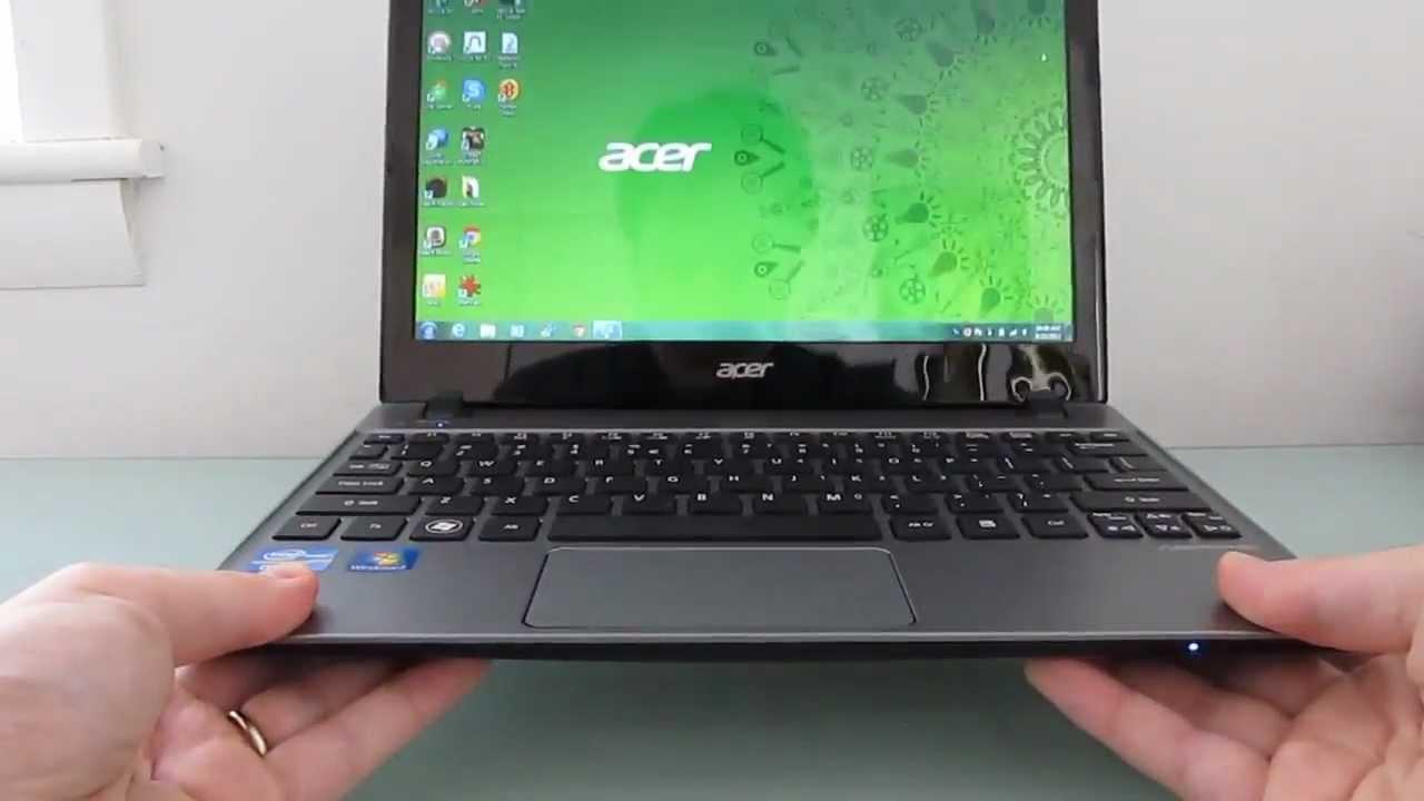Acer Aspire V5 116 Inch Notebook Review