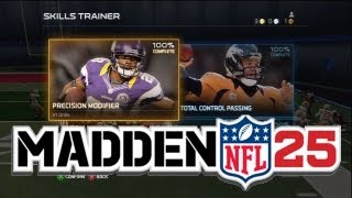 Madden 25 - Ultimate Team Cards in Skills Trainer! (Demo Gameplay)
