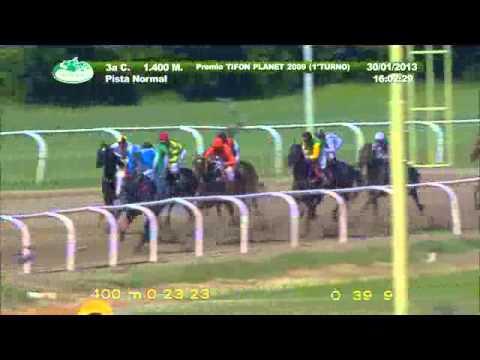 Vidéo de la course PMU PREMIO TIFON PLANET 2009
