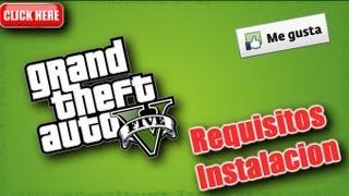 """Requisitos Para La Instalación De """" GTA V """" Xbox 360 Y"""