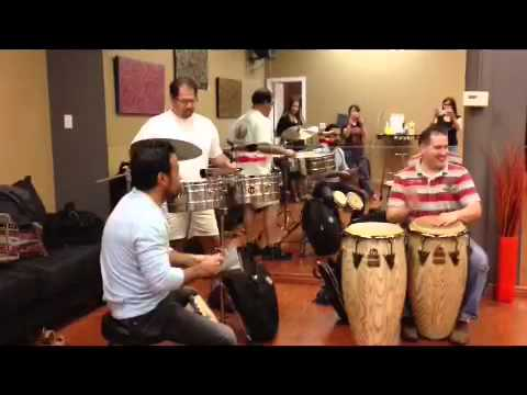 Salsa band in Utah - Orquesta Latino jamming at DF Dance St