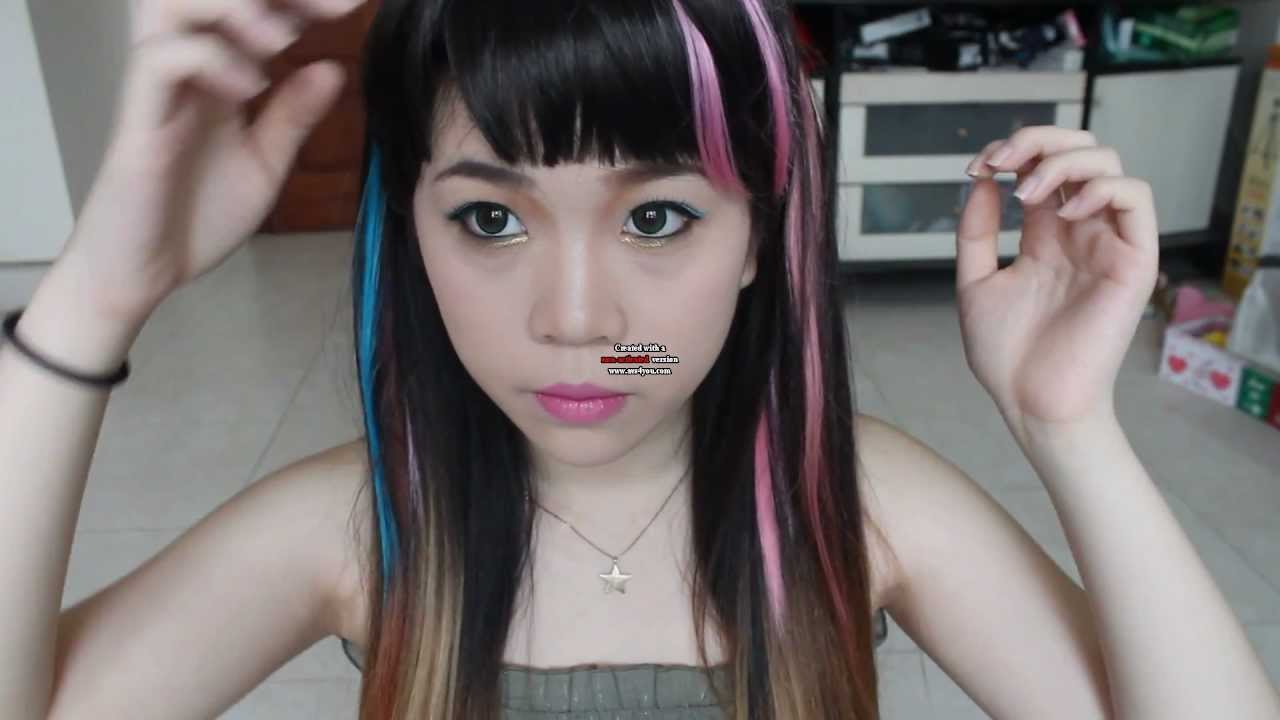 Displaying 17 gt  Images For - Fx Sulli Electric Shock Hair   Electric Shock Hair Fx