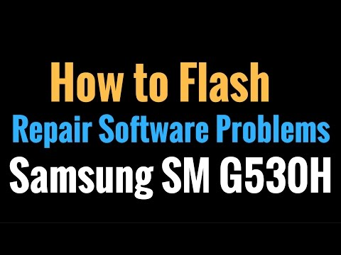 Samsung SM G530H Flash done with Odin tool by GsmHelpFul