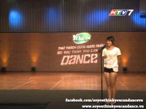 [SYTYCD2] Thử Thách Cùng Bước Nhảy - Tập 1 - Phạm Thị Ngọc Anh