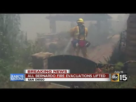 Calif. firefighters gain ground on wildfires