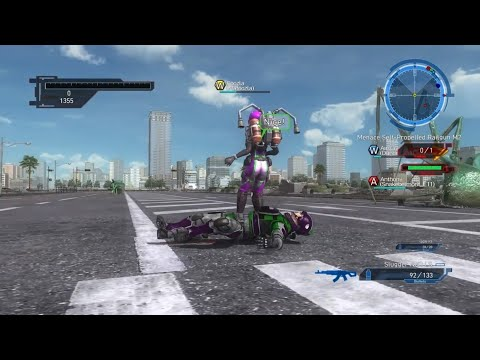 Earth Defense Force 5   Funny Moments - Farming Session