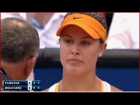 Eugenie Bouchard vs Karolina Pliskova