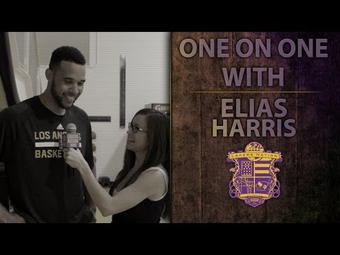 Lakers Interview: Get To Know Lakers Rookie Elias Harris