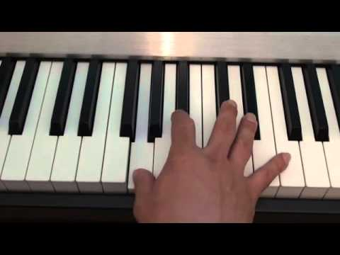 How to play Somewhere Only We Know on piano - Lily Allen - John Lewis Christmas Advert 2013