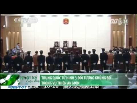 VTC14_Trung Quốc tử hình 3 đối tượng khủng bố trong vụ Thiên An Môn