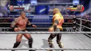 WWE ALL STARS: Edge Vs Randy Orton