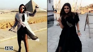 What! Parineeti Chopra dance for MUMMIES in Egypt!..