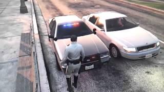 Grand Theft Auto 5 Rare Police Car (Unmarked Patrol Car