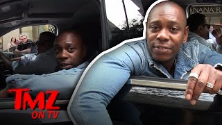 Our Photog Hilariously Tries To Keep Up With Dave Chapelle   TMZ TV