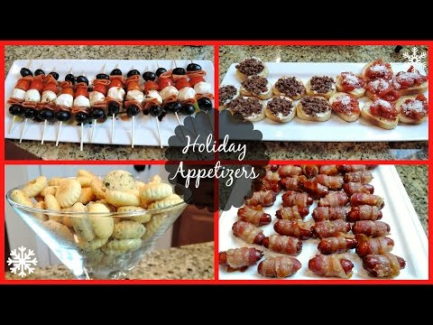 HOLIDAY PARTY APPETIZERS!