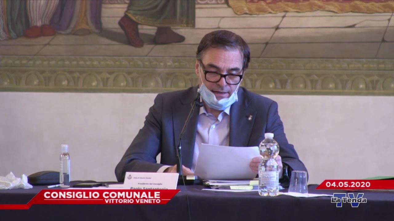 CONSIGLIO COMUNALE VITTORIO VENETO - Seduta del 04.05.2020