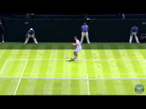 Highlights Day 1: Murray v Goffin 1R - Wimbledon 2014