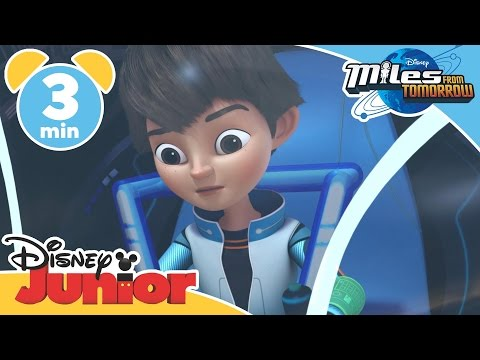 Miles From Tomorrow | Rollercoaster | Disney Junior UK