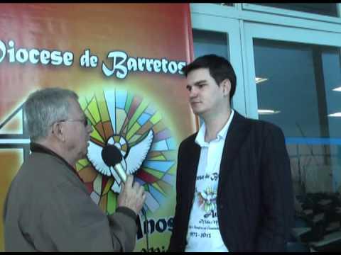 Pe. Thiago fala sobre os festejos dos 40 anos da diocese