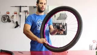 Aprende a cambiar una cámara de bicicleta