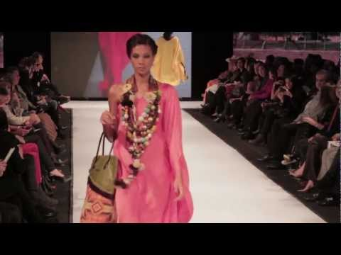 Circulo de la Moda Bogotá 2012 - Moda Guajira- Diseño Wayúu