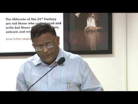 Maharashtra Education System - Keynote address by Shri J S Saharia, Chief Secretary, Maharashtra