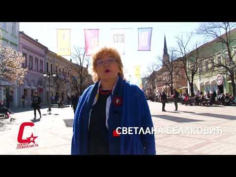 Градски одбор Покрета социјалиста Новог Сада честита 8.март, Међународни дан жена