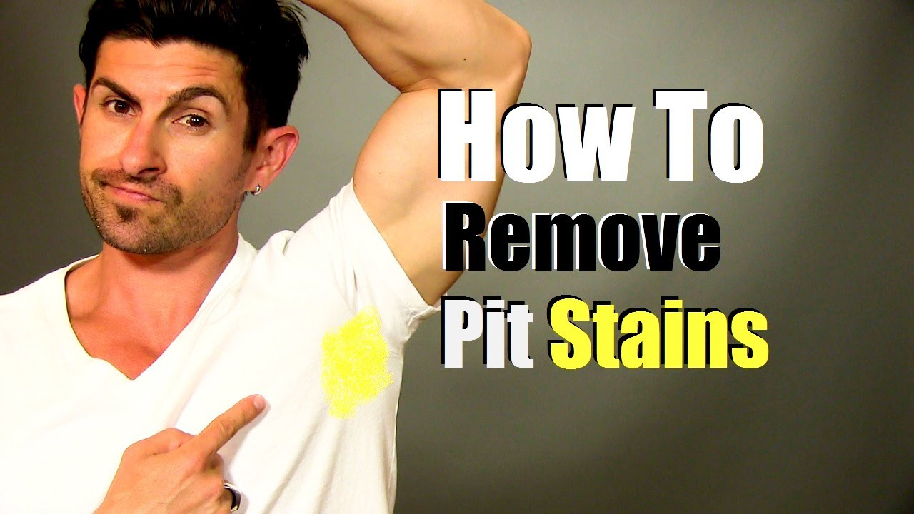how to remove yellow armpit stains quick easy and cheap youtube. Black Bedroom Furniture Sets. Home Design Ideas