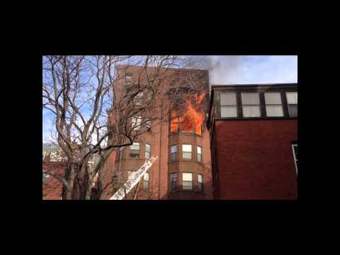Apartment fire in Boston's Back Bay Neighborhood (part 2)