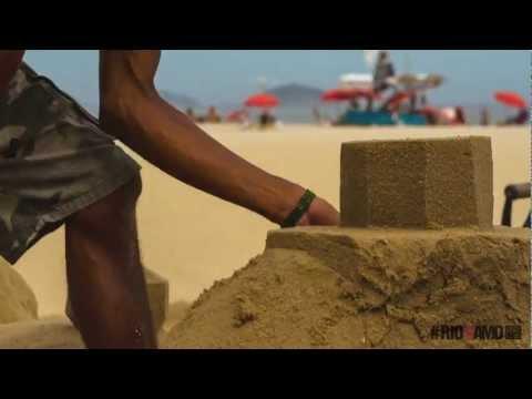#RioEuTeAmo apresenta: Escultura de Areia