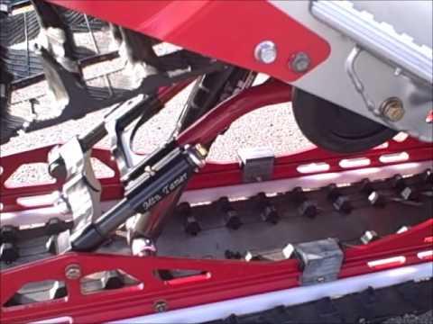 Red Skis For Yamaha Phazer