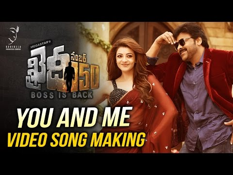 Khaidi-No-150-Movie-You-And-Me-Video-Song-Making