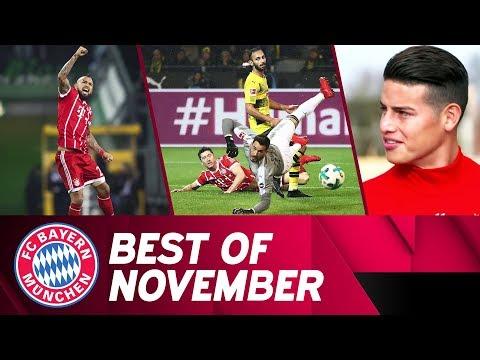 Big win in Dortmund, Goal machine Vidal & Snow at Säbener Street | Best of November | FC Bayern
