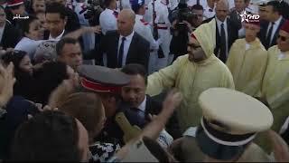 بعد الخطاب..الملك محمد السادس يغادر مقر البرلمان وسط تصفيقات المواطنين..شوفو التجاوب الكبير | قنوات أخرى
