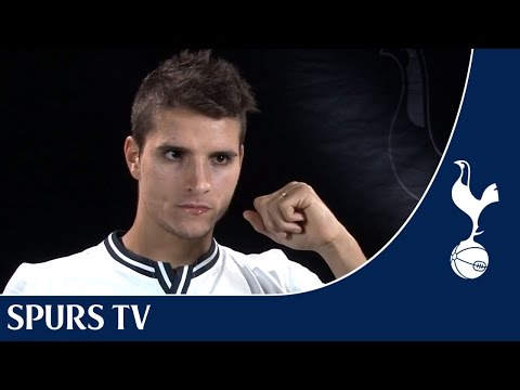 New signing Erik Lamela speaks to Spurs TV
