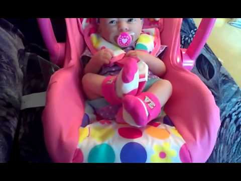 doll car seat youtube. Black Bedroom Furniture Sets. Home Design Ideas