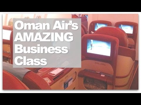 Oman Air Business Class | London ✈ Muscat ✈ Bangalore Business Class Reviewed