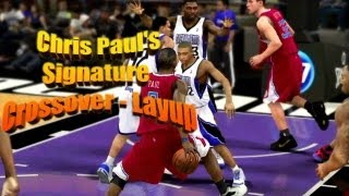 How To Do Chris Paul's Signature Crossover / Layup