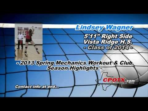 Lindsey Wagner - 2013 Spring Mechanics Workout & Club Season Highlights