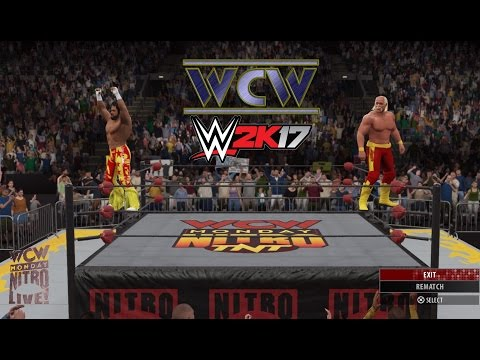 WCW Returns in WWE 2K17