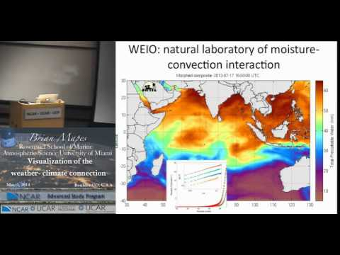 Unidata IDV Screecast 11 - Professor Mapes IDV Seminar on Climate and Weather